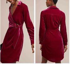 Anthropologie Velvet Shirtdress Dress by Maeve $168 Sz 16 - NWT