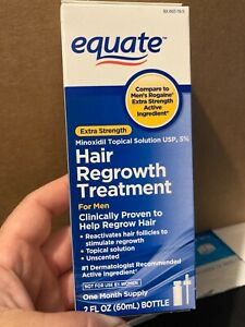 Equate 5% Men Hair Regrowth Formula 1 Month Supply Extra Strength 11/2022