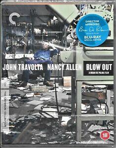 Blow Out Criterion Collection Blu Ray(John Travolta Nancy Allen)Reg/B Free Post