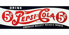 Pepsi Soda Ad advertising High Quality Metal Fridge Magnet 2.5 x 5 9788