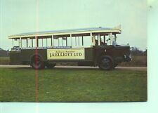 Preserved 1934 Renault TN6 C2 Paris Autobus 1970s  postcard