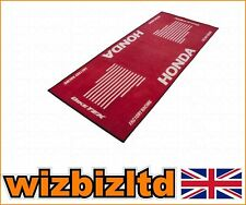 Bike-it Honda logotipo Motocicleta Garage rug/floor Mat 183 Cm X 75 Cm grgmat42