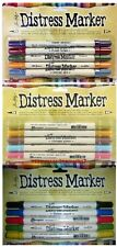 15 Markers Ranger Tim Holtz DISTRESS MARKERS MEMORIES COUNTRY CLUTTERED Lot of 3