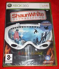 SHAUN WHITE SNOWBOARDING XBOX 360 Versione Ufficiale Italiana 1ª Edizione NUOVO