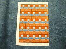 1962 Definitive - Half Sheet - N104 - MNH