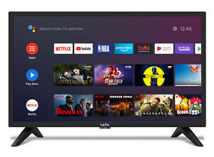 CELLO 24″ Inch SMART ANDROID TV FREEVIEW PLAY & GOOGLE ASSISTANT WiFi BRAND NEW
