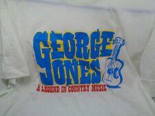 Vintage 1990 Rare George Jones Jones Country T Shirt Large only
