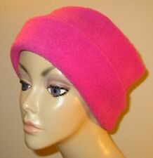 Dark Rose  Anti Pill FleeceCancer Chemo Alopecia Warm Winter Hat
