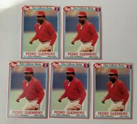 1990 Post First Collector Series Pedro Guerrero #22 OF 30 lot of 5 MLB St Louis