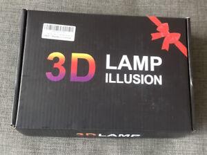 3 D Lamp Illusion Star Wars Characters.