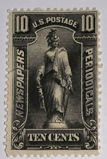 Travelstamps: US Stamps Scott # PR117 10 Cents Newspaper Stamp Used Ng