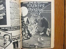 Nov. 22, 1980 TV Guide(YOGI  BEAR/YOGI'S  FIRST  CHRISTMAS/PAM  DAWBER/GODZILLA)