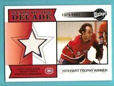 2001-02 Upper deck Vintage Guy LaFleur Game Jersey Canadiens 1979 Hart Trophy