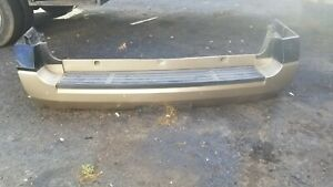 """Rear Bumper 119"""" Wb With Park Assist Fits 11-17 EXPEDITION black n gold"""