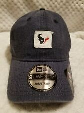 HOUSTON TEXANS HAT CAP ADJUSTABLE NFL VTG RETRO LOOK NEW STAMPED DAD HAT 9TWENTY