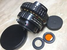 Wide angle lens MC Mir-20  f/3,5/20mm M42 СССР  Zenit.Nikon.Canon. № 020433