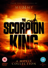 The Scorpion King 1 to 4 Complete Movie Quadrilogy 4 Films DVD