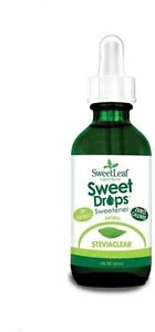 SteviaClear Liquid by SweetLeaf, 2oz.