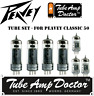 Tube Set - for Peavey Classic 50 COMBO Tube Amp Doctor vacuum valve tubes