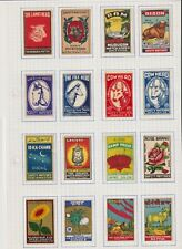 Old Matchbox Label Collection India 850 + Pieces . Great Lot N°2