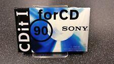 Audio Cassetta SONY CDit I 90  -  NUOVA SIGILLATA
