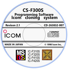 Icom Cs-F300S Rev. 2.1 Programming Software for Icom Ic-F310S/F320S/F410S/F420 S