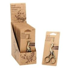 Stork Design Embroidery Scissors Haberdashery Sewing Accessories 11.43cm/4.5in