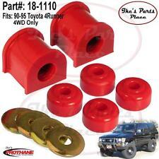 Prothane 18-1110 Rear 18mm Sway Bar & End Link Bushing Kit 90-95 Toyota 4Runner