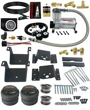 "Air Suspension Tow Kit In Cab Control Fits 4"" Lifted 11-17 Chevy 2500 3500 Truck"