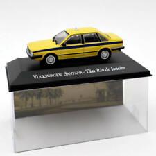 1:43 IXO Volkswagen Santana Taxi Rio De Janeiro Yellow Diecast Models Collection