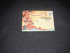 1940's Souvenir Postcard Folder Calgary Canada