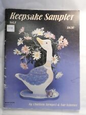 Keepsake Sampler Vol 1 -  Stempel & Scheewe - folk art tole painting patterns