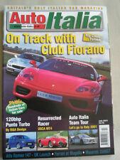 Auto Italia 59 Punto Turbo, OSCA MT4, Maserati 3500GT