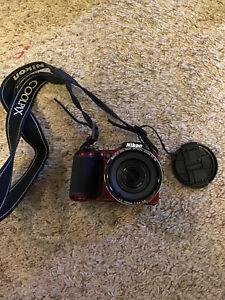 Nikon COOLPIX L820 16.0MP Digital Camera - Black