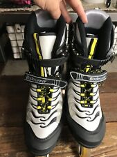 Men's Bladerunner 78 Rollerblades Inline Skates Men's Size 12 U.S. Black Silver