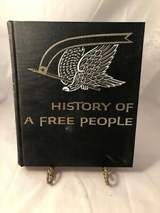 History of a Free People book by Bragdon & McCutchen *High School Textbook 1964