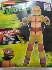 Child Large 12-14 Teenage Mutant Ninja Turtles Michelangelo 8-Piece Costume NEW