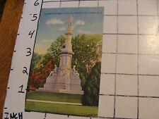 Unused Postcard: GETTYSBURG, PA: SOLDIERS' MONUMENT IN NATIONAL CEMETERY