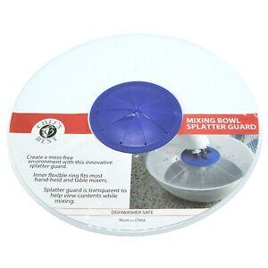 """Mixing Bowl Cover Splatter Guard BPA Free 11.25"""" Diameter"""