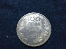 More details for very rare bulgarian 100 leva coin, silver, year 1934