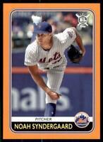 2020 Big League Base Orange #36 Noah Syndergaard - New York Mets