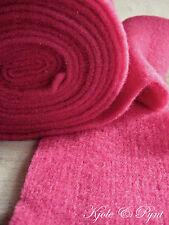 3,40€/m) Topfband Wollvlies Wollfilz Pink 15cm Schafwolle Lehner Wolle VI04 Filz