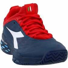 Diadora Speed Blushield Fly AG  Casual Tennis  Shoes - Navy - Mens