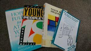 Youthwork/Young People Academic Studies Text Books Bundle