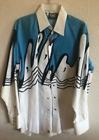 Panhandle Slim Brooks And Dunn Western Shirt Size L