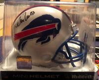 Andre Reed Autographed Mini Helmet Buffalo Bills HOF Beckett COA