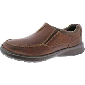 Clarks Men's Cotrell Free Leather Ortholite Slip On Casual Loafer