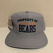Vtg Property of the Chicago Bears New Era Snapback Hat Deadstock Nwt New Nfl