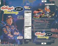 "2003 TERRY LABONTE ""KELLOGGS RACING"" #5 NASCAR WINSTON CUP POSTCARD / CEREAL BOX"