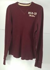 Pre Owned Teen - Young Mens Hollister  Distressed Crew Neck  Sweater Size L  T3